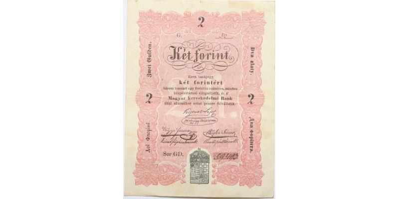 2 forint 1848