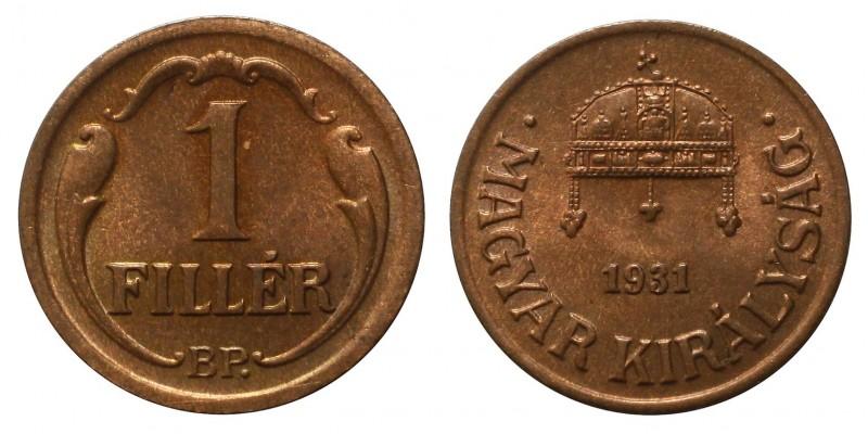 1 Fillér 1931