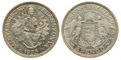 2 pengő 1935
