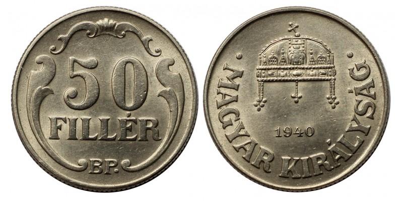 50 fillér 1940