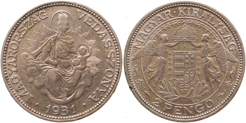 2 pengő 1931