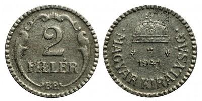 2 Fillér 1941 R!