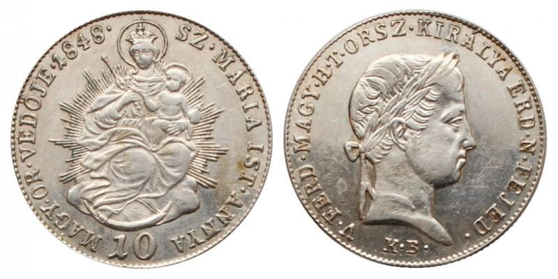 10 krajcár 1848