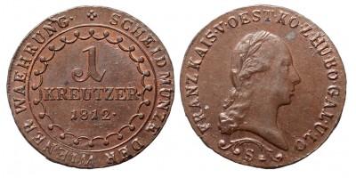 I.Ferenc 1 krajcár 1812 S