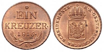 I.Ferenc  krajcár 1816 A